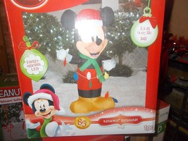 Mickey Mouse with string lights Airblown Inflatable 3.5 ft. - $39.99