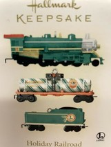 Hallmark Keepsake Holiday Railroad Luonel Trains 3 Miniature Cars - $14.80