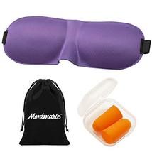 Montmarle Sleep Mask for Men and Women, 100% Light Blockout, Comfortable... - $15.07