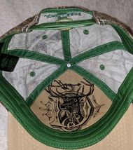 John Deere LP64489 Tan And Mossy Oak Camo Adjustable Baseball Cap image 9