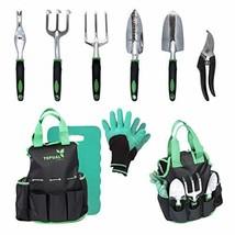 Tepual Garden 9-Piece Garden Tool Set | Gardening Tools Make The Perfect... - $45.98
