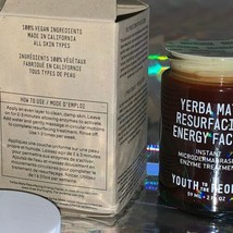 NIB YOUTH TO THE PEOPLE Yerba Mate Resurfacing+Exfoliating Energy Facial Enzymes image 2