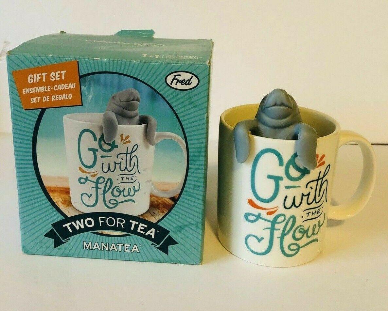 Zwei für Tee Manatea Tee-Ei & Kaffee Tasse Geschenk Set von Fred & Freunde image 2