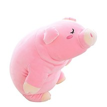 Lazada Pig Plush Stuffed Piggy Super Soft Throw Pillows Hugging Toys Gi... - $33.99