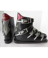 Vintage Henke Plastic Cross Country Ski Boots Made in Switzerland Black ... - $46.74