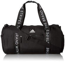 adidas VFA Roll Duffel Bag (One Size|Black/ White) - $38.72