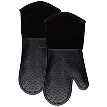 Silicone Mitts Quilted Cotton Lining - $14.24
