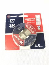 Crosman .177 Caliber Destroyer Hunting Pellet 250 Pellets Benjamin Free ... - $5.93