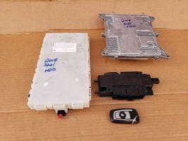 Bmw F30 F33 328i 428i N20 2.0 4cyl Turbo DME ECU Key Cas Ignition Module Set image 9
