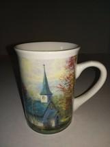 "Thomas Kinkade ""The Aspen Chapel"" 2001 Collection Tall Mug Coffee/Tea Cup - $7.99"