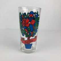 9th Day Vintage Pepsi Logo Glass 1970s 12 Days Of Christmas Holiday Drin... - $9.89