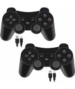 Wireless Controller Gamepad Remote PS3 Playstation 3 Double Shock USB Ch... - $36.27