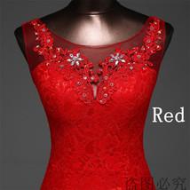 Lace floral mermaid Wedding Dress at Bling Brides Bouquet Online Bridal Store image 13