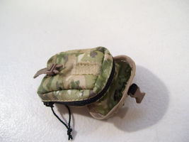 "NEW CAMO POUCH ACCESSORY FOR 12"" ACTION FIGURES BLUE BOX 1/6 SCALE image 3"