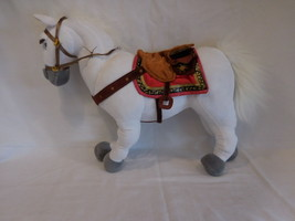 "Disney Store 15"" MAXIMUS Plush Stuffed TANGLED White Horse Princess Rapu... - $15.02"