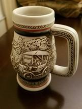 MUG Ford Model T Vintage 1982 Beer Stein Mug Cup Ceramic AVON Car - $9.99