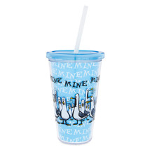 Disney Parks Finding Nemo Seagulls Mine Mine Mine Tumbler with Straw New - $25.86