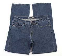 Lee Womens Jeans Slender Secret Boot Cut Lower Waist Sz 10 Petite - $27.55