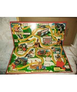 1954 UNCLE WIGGILY GAME BOARD ONLY WITH TOP OF BOX (DAMAGED) - $74.25