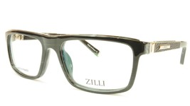 ZILLI Eyeglasses Frame Acetate Leather Titanium France Hand Made ZI 6000... - $1,045.00