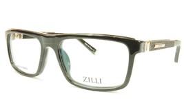 ZILLI Eyeglasses Frame Acetate Leather Titanium France Hand Made ZI 6000... - $1,045.00