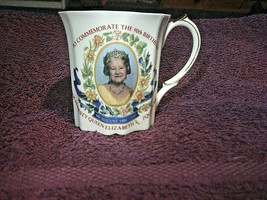 Queen Elizabeth, The Queen Mother 90th Birthday Teacup - (1990) - FREE P... - $11.16