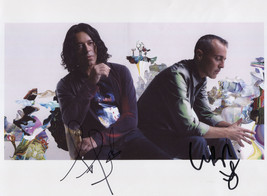 Tears For Fears SIGNED Photo + COA Lifetime Guarantee Roland Orzabel Cur... - $69.99
