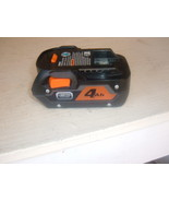 RIDGID R840087 4.0 AMP HOUR LIMITED EDITION LI-ION BATTERY. NEW OLD STOCK - $69.00