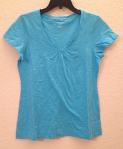 Charter Club V-Neck S/S Knit Pajama Sleep Slub Top 13508 XS Small Medium - $7.50