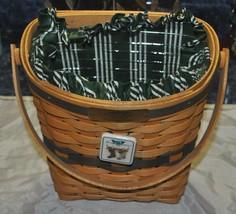 Longaberger 1998 Glad Tidings Christmas Basket Combo - $46.74