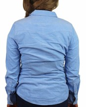 BRAND NEW LEVI'S WOMEN'S CLASSIC TAILORED CORDUROY WESTERN SHIRT  BLUE LHW3115R image 2