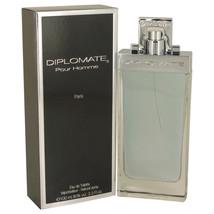 Diplomate Pour Homme by Paris Bleu Eau De Toilette Spray 3.3 oz for Men #539788 - $30.04