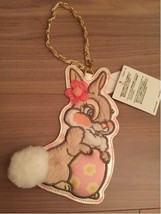 Tokyo Disneyland 2016 Easter Miss Bunny Pass Case Card Case Holder Strap - $51.48