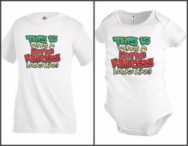 Little Princess Looks like Funny Kids T shirt tee Baby Toddler bodysuit KP8 - $12.99