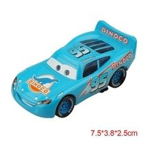 "Disney Pixar Cars 2 ""Mc Queen Blue Dinoco"" Diecast Vehicle Kids Toys  - $8.69"