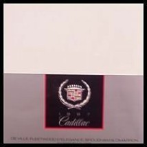 1987 Cadillac Color Chip Brochure - $4.71