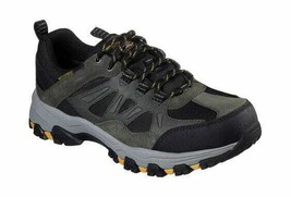 Men's Skechers Relaxed Fit Selmen Enago Hiking Shoe Olive/Black - $104.51