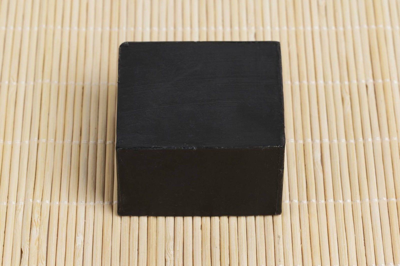Activated Bamboo Charcoal Black Soap 4 - 3.35 OZ Handmade Bars Light Fresh New