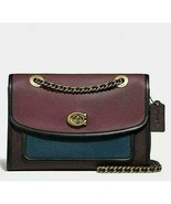 Coach 75574 Colorblock Leather Parker Shoulder crossbody Bag - $217.79