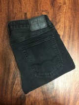 AMERICAN EAGLE Slim Leg Classic Rise Dark Black Denim Jeans Men's Size 3... - $531,82 MXN
