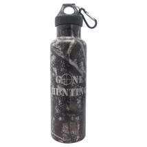 Gone Hunting -Laser Engraved 21 oz Camouflage Double Steel Wall Insulate... - $22.46