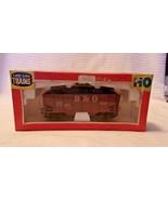 HO Scale Life-Like B&O Baltimore & Ohio Hopper With Load, Brown, #320835... - $14.85