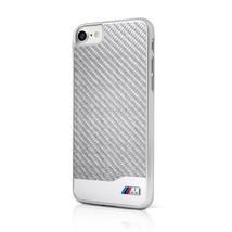 BMW M Carbon Fiber Hard Case - Carbon Design case for iPhone 7,8 silver ... - $54.05