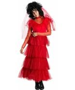 Rubies Beetlejuice Lydia Boda Vestido Adulto Mujer Disfraz Halloween 701655 - $52.31