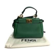 Fendi | Micro Peekaboo Bag - Kelly Green - $675.00