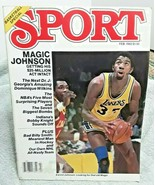 Sport Magazine February 1982 Magic Johnson Lakers Dominique Wilkins Bobb... - $5.89