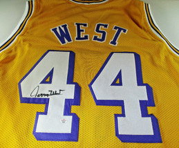 JERRY WEST / NBA HALL OF FAME / AUTOGRAPHED LAKERS CUSTOM BASKETBALL JER... - $138.55