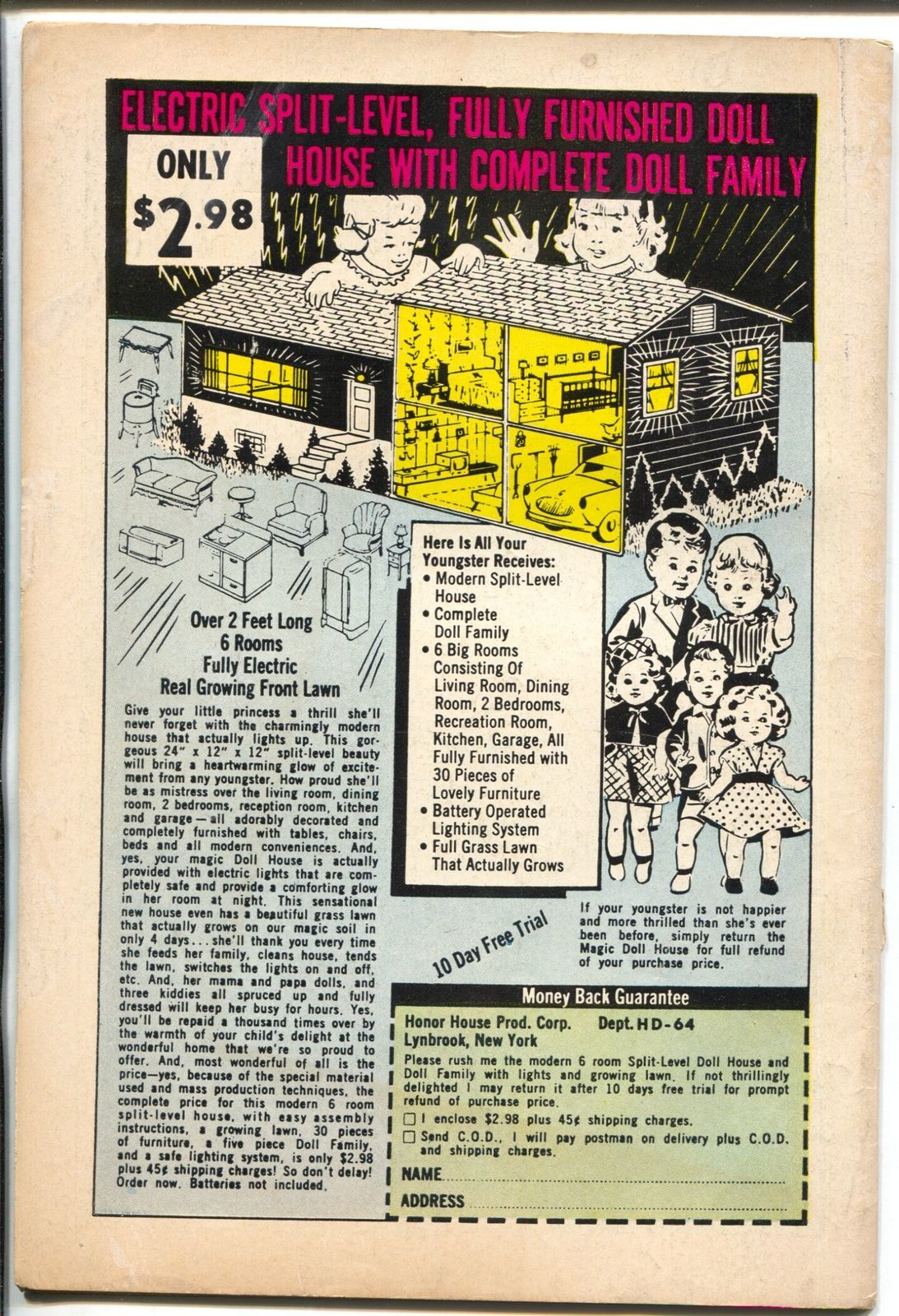 Secret Hearts #92 1963-DC-monnlight night cover-romance-VG+