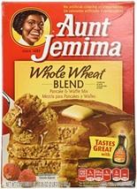 Aunt Jemima Whole Wheat Blend Pancake & Waffle Mix, 35 Oz 1 box - $15.57