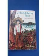Huckleberry Finn hardcover vintage modern abridged edition Whitman class... - $4.99